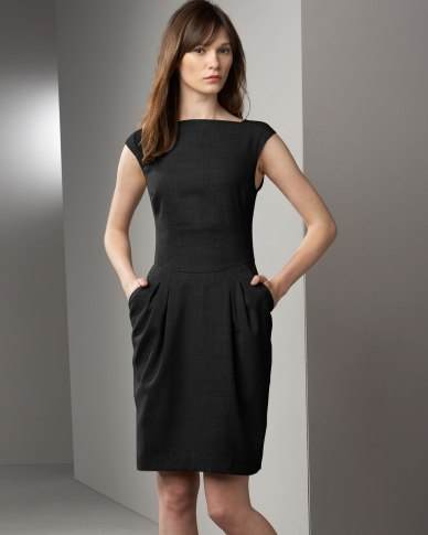 magaschoni-shift-pocket-dress
